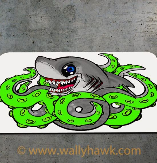 Sharktopus Mousepad - 2