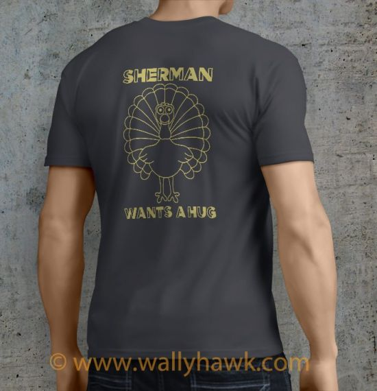 Sherman Shirt - Male Charcoal