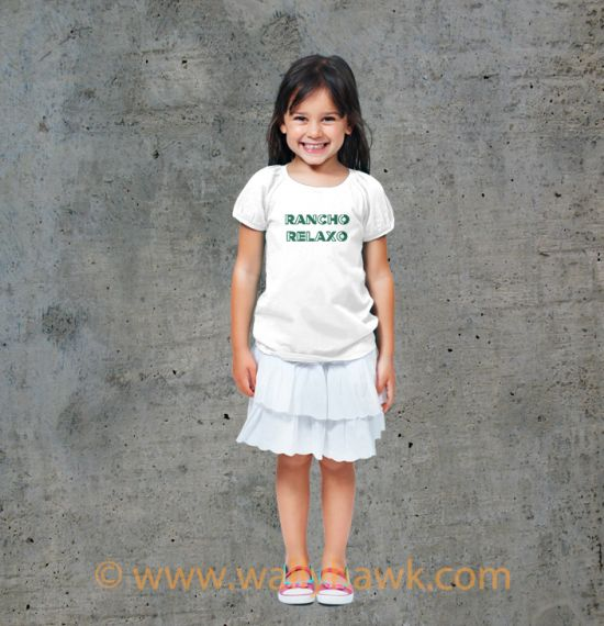 Sherman Youth Shirt - Girl White