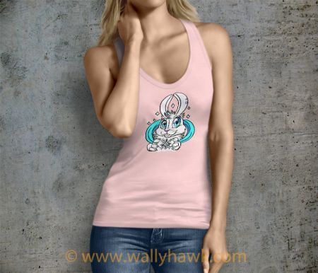 Snow Bunny Tank Top - Female Pink