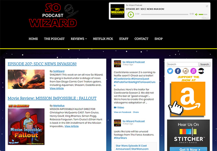 So Wizard Screen Shot