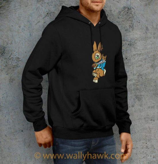 Sword Bunny Hoodie - Right