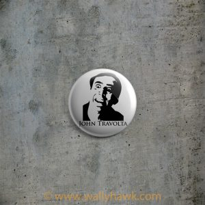 John Travolta Button