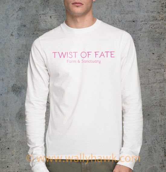 Twist of Fate Shirt - Male White Longsleeve