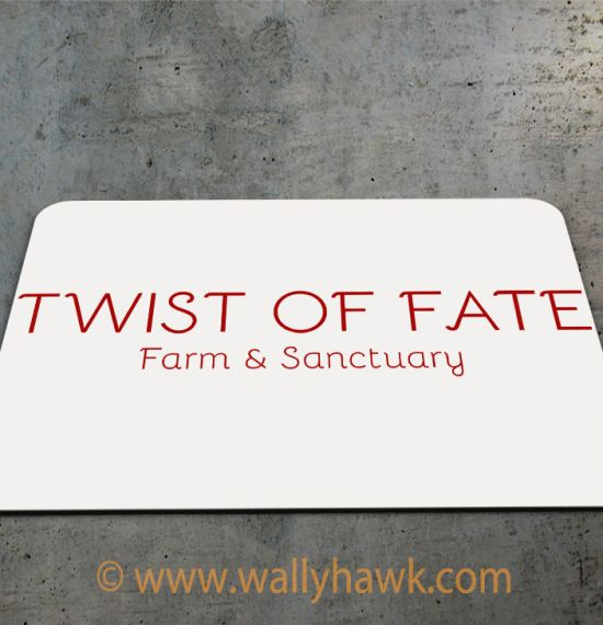 Twist of Fate Mousepad 2