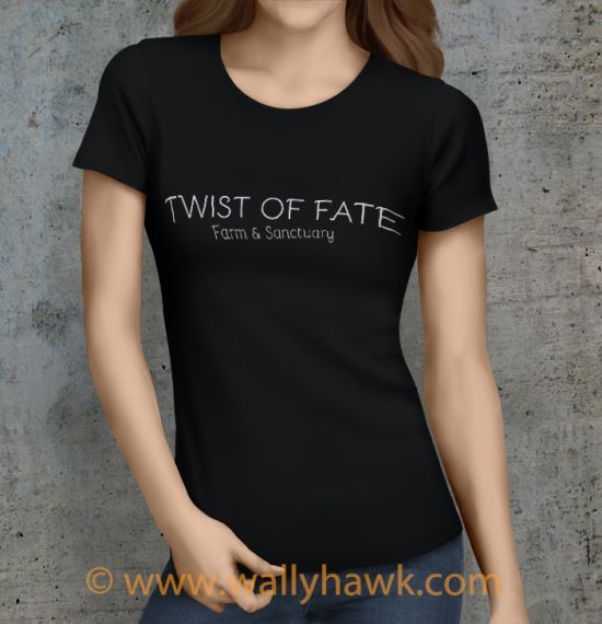 Twist of Fate Shirt - Female Black