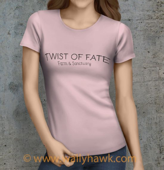 Twist of Fate Shirt - Female Pink
