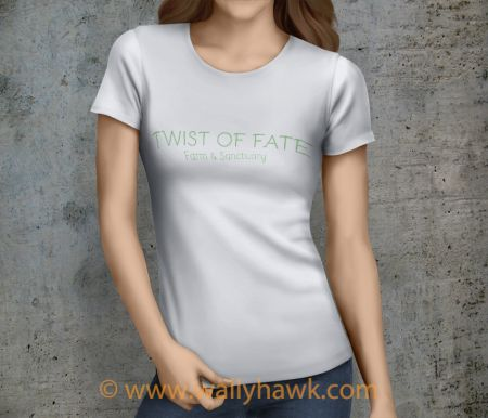 Twist of Fate Shirt - Female White