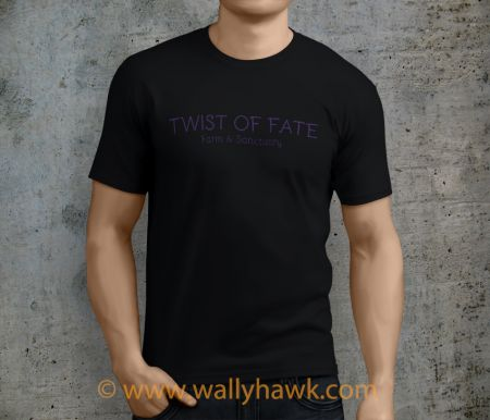 Twist of Fate Shirt - Male Black