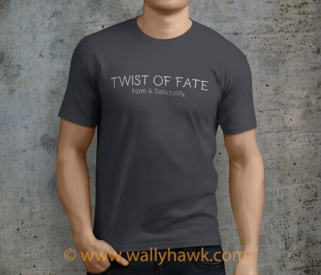 Twist of Fate Shirt - Male Charcoal