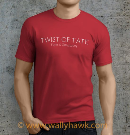 Twist of Fate Shirt - Male Heather Red