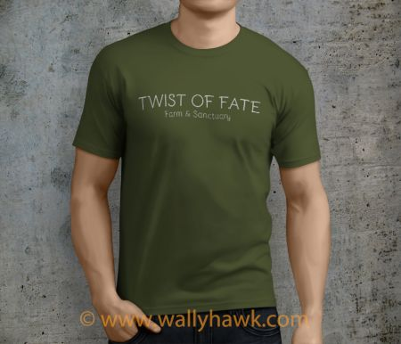 Twist of Fate Shirt - Male Military Green