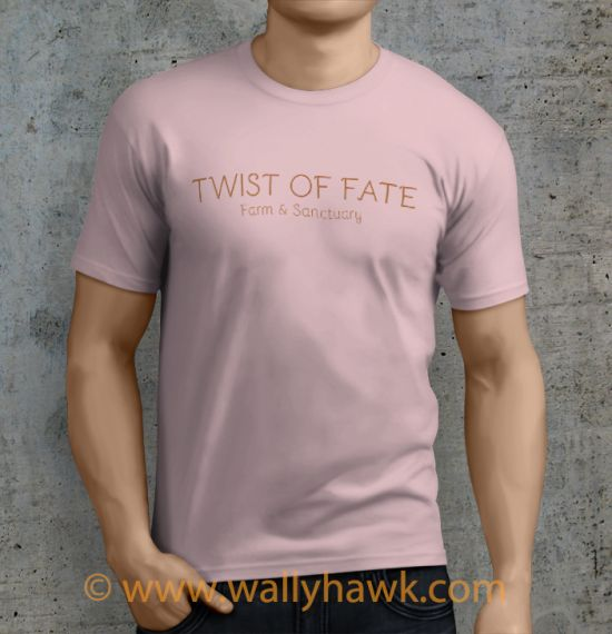 Twist of Fate Shirt - Male Pink