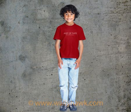 Twist of Fate Youth Shirt - Boy Red