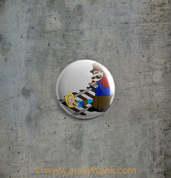 Vaudvillain Button