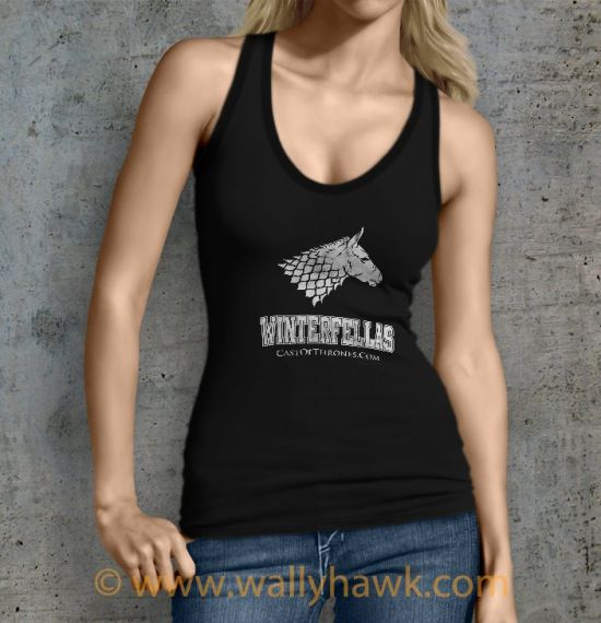 Winterfellas Tank Top - Female Black